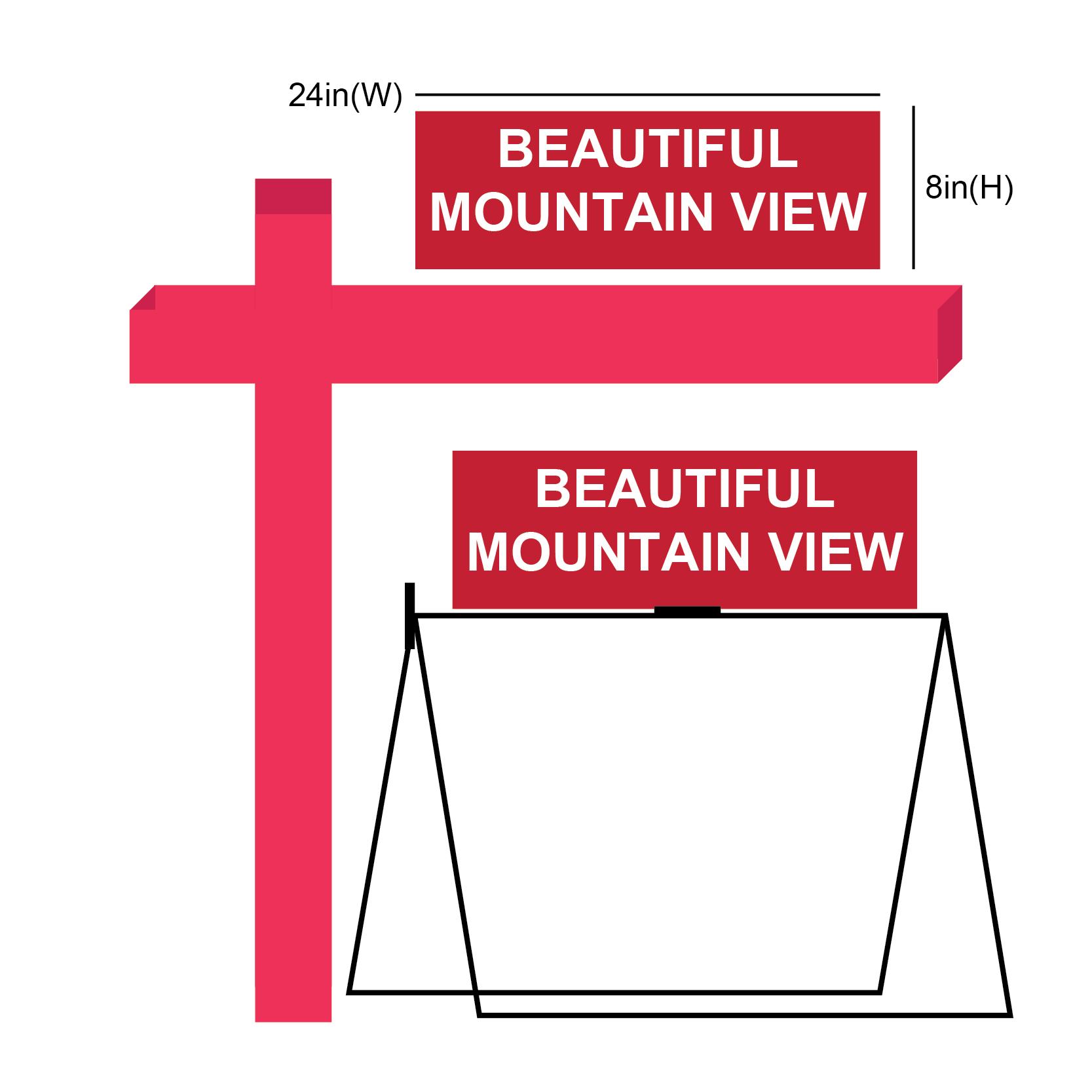beautiful mountain view Rider